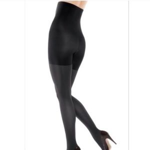 NWT Spanx Star Power Shaping Tights Black Size G